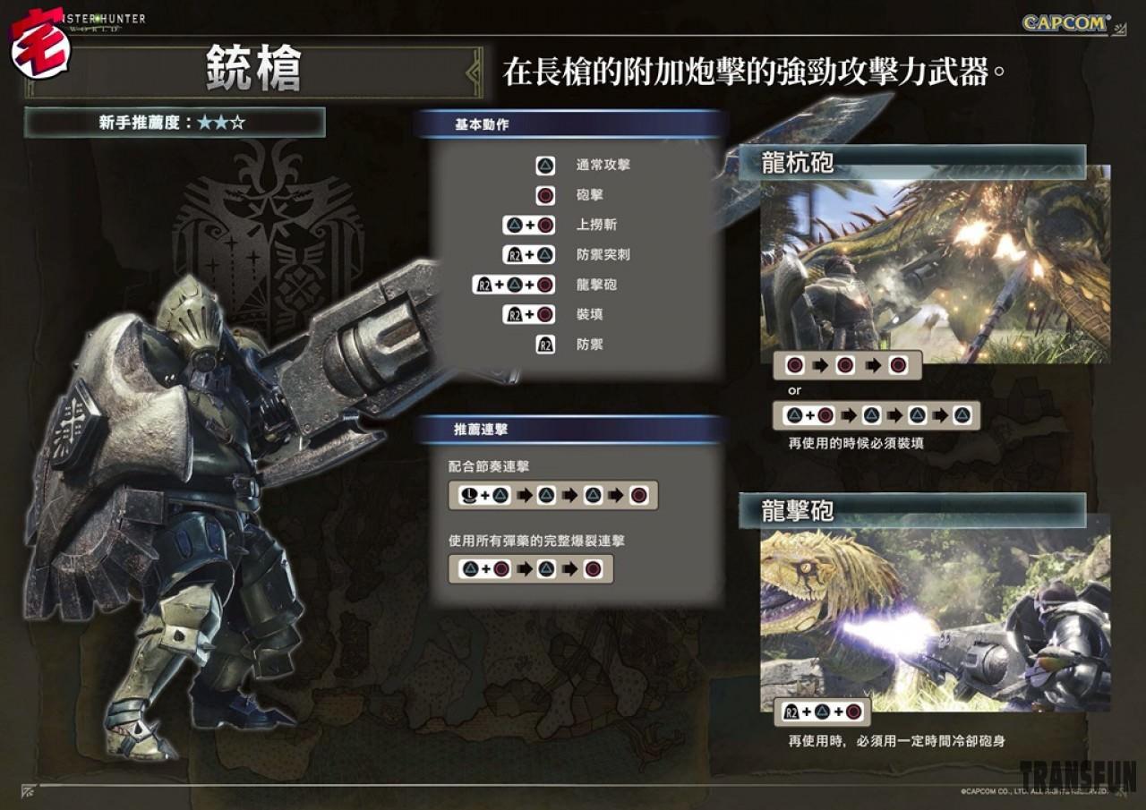 【怪物猎人 世界/MHW攻略】 武器攻略心得:铳枪篇